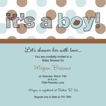 Baby Shower Invitations and Baby Announcements l PurpleTrail