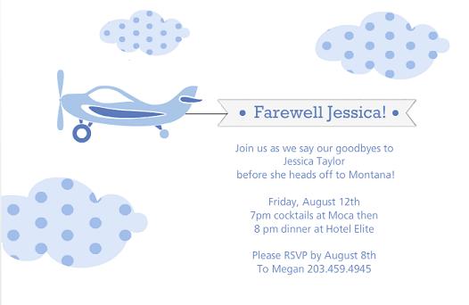 Farewell Invitation Card Design for awesome invitations template