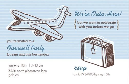 Farewell party invitation templatesgisk farewell party invitation stopboris Gallery