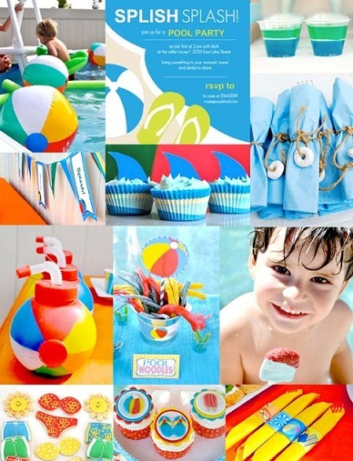 Pool Party Kids Ideas pool party dessert ideas teddy grahams in pudding fun food party printables by All