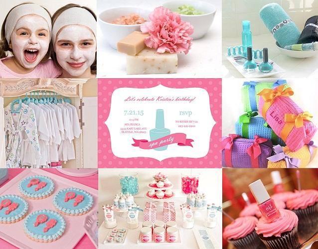 Little Girl Spa Party Ideas