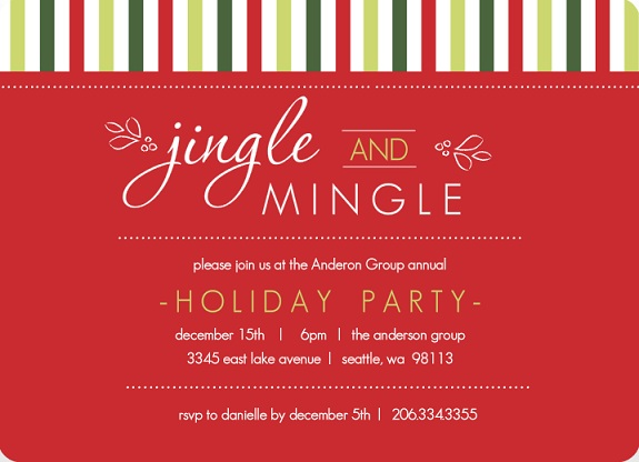 Office christmas party invitations office christmas party invitations
