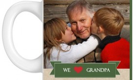 Custom Photo Mug for Grandpa