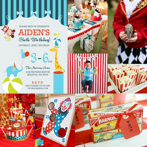 Circus Party Ideas | Kids Birthday Parties | Purpletrail